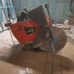 RDA Concrete Cutting Roadsaw