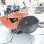 RDA Concrete Cutting Roadsaw 2