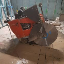 RDA Concrete Cutting Roadsaw